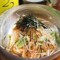 料理メニュー写真ネギ冷麺