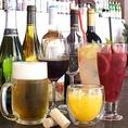 HAPPY HOUR 15時~19時限定★スパークリング・ビール・カクテルなど 450円★ イルマーレでは、平日15:00~19:00限定で指定のドリンクメニューがすべて、なんと、450円!!
