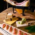 生ハムのにぎり寿司 Sushi of Parma ham