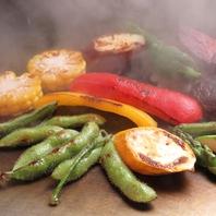 多彩な鉄板料理★新鮮な食材使用◎