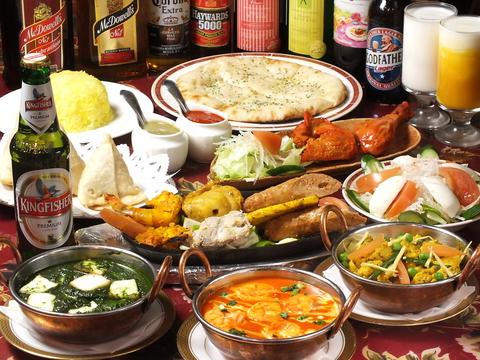 インド人も認める北インド料理店!食べ飲み放題も個室もあるので宴会に最適☆