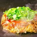 料理メニュー写真豚広島焼き/イカ広島焼き