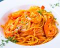 料理メニュー写真海老のアメリケーヌソースパスタ