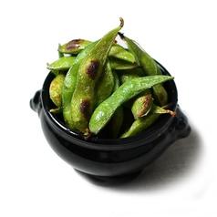 料理メニュー写真こんがり焼き枝豆