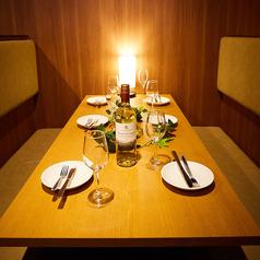 テーブル席はご宴会や接待、女子会、合コン等幅広いシーンでご利用頂けます!