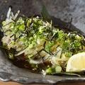 料理メニュー写真媛っこ地鶏たたき(炙り)