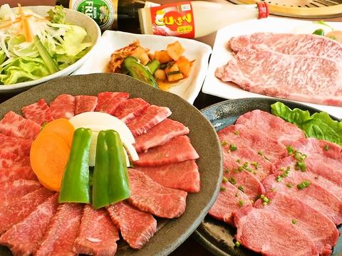 贅沢な肉をリーズナブルに楽しめる♪10名~無料送迎もOK帰りも安心の安楽亭で乾杯☆