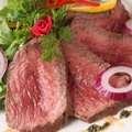 料理メニュー写真手作り A4黒毛牛のローストビーフ
