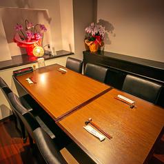 【個室】6名様テーブル×1席 ◎要予約でご飲食代金プラス個室代金10%頂きます。