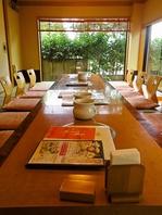 純和風の個室で、静かに落ち着いてお食事いただけます。