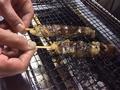 料理メニュー写真レバー網脂焼き