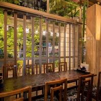 金山駅で落ち着きのある雰囲気の完全個室を完備!