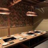 【5~12名様】接待やお食事会にも最適な掘りごたつ個室をご用意しております。