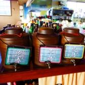 『かめ』にて貯蔵している各種焼酎もオススメですよ♪
