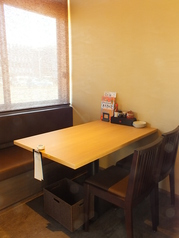 4名様用テーブル席です!