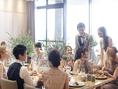 結婚式二次会のご予約もお受けしております。