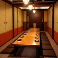 こちらは16名様用個室です