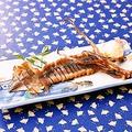 料理メニュー写真【肝入り】 イカの丸干し焼