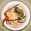 料理メニュー写真伊勢海老のグラタン