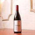 【セレクトワイン赤】コースに+1000円(税込)で飲み放題に!『甘味が特徴のワインです』