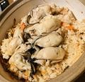 料理メニュー写真牡蠣めし 1合 牡蠣5ケ