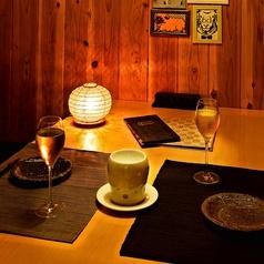 2名様からの個室はカップルシートとしても◎ヘルシーな料理とともに、おしゃれなデザートプレートで素敵な思い出を・・・
