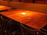 広々ゆったりと使えるテーブル席は様々なシーンに最適です♪