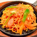 料理メニュー写真昭和のナポリタン