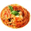 料理メニュー写真ナスとモッツァレラのトマトソース