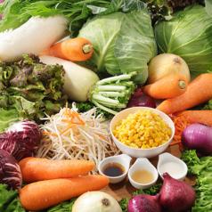 お野菜だって食べられちゃう!