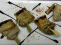 料理メニュー写真地鶏の焼ネギのピンチョス