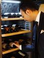 お料理・お好みに合わせたワインをお選びいたします