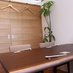 個室は一部屋限定!予約必須のお席となっております。