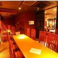 奥の半個室は大人数のパーティーに最適です!15名~貸切可能!