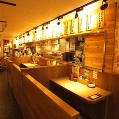 【渋谷】2人で飲むのも、お仕事帰りに一人でふらっと立ち寄りもOK!目の前で調理の様子が見える、ライブ感のあるお席です!