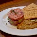 料理メニュー写真マグロとアボカドの岩海苔ディップ