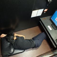◆フラットブース◆お仕事中のひと休みにも終電を逃した方にも♪広いお部屋で熟睡できます♪
