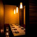料理メニュー写真定番からオリジナル料理まで、完全個室で