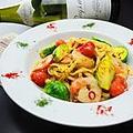 料理メニュー写真ごちそうのペペロンチーノ