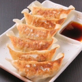 料理メニュー写真<王道の味>焼き餃子(にんにくあり/なし)