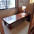 1階:6名様の個室お座敷席です。※仕切りを外して6名様以上の個室仕様にもご対応いたします。