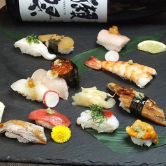 江戸前寿司盛り合わせ12種(特上)
