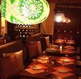 ■20名様用テーブルソファ個室■===============インドの宮殿を思わせる忘年会・新年会にぴったりのお席です。