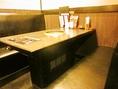 ゆったりと広々としたテーブル席☆