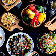 ブライダルのお料理はこんな感じになります。おしゃれで美味しいお料理を作ってお待ちしております!!!