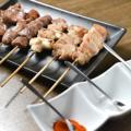 料理メニュー写真鶏串盛り合わせ(6本)