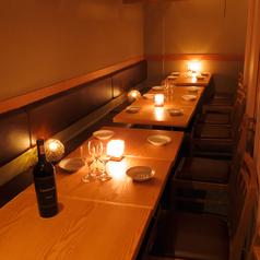 個室肉バル Trattoria シバザキ 八重洲店の雰囲気1