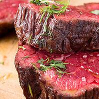 【和牛ステーキを少しづつイロイロ!】