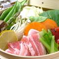 料理メニュー写真岡山産ピーチポークのせいろ蒸し