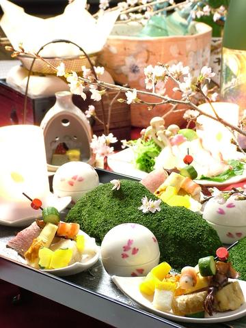 五感に響くお料理。京素材を職人の新感覚でアレンジ。大人の隠れ家で贅沢なひと時を。
